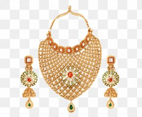 Jewellery - Jewellery Earring Necklace Kundan Pearl PNG