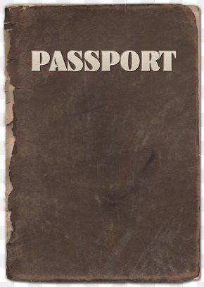 Passport - Passport Decoupage Shirt PNG