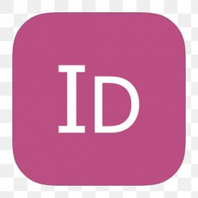 MetroUI Apps Adobe InDesign - Pink Area Purple Text PNG
