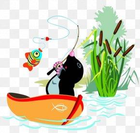 Cartoon Boat Sea Water - Stock Illustration Cartoon Illustration PNG