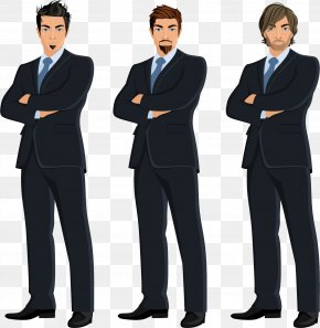 Three Suit Han - Businessperson Illustration PNG