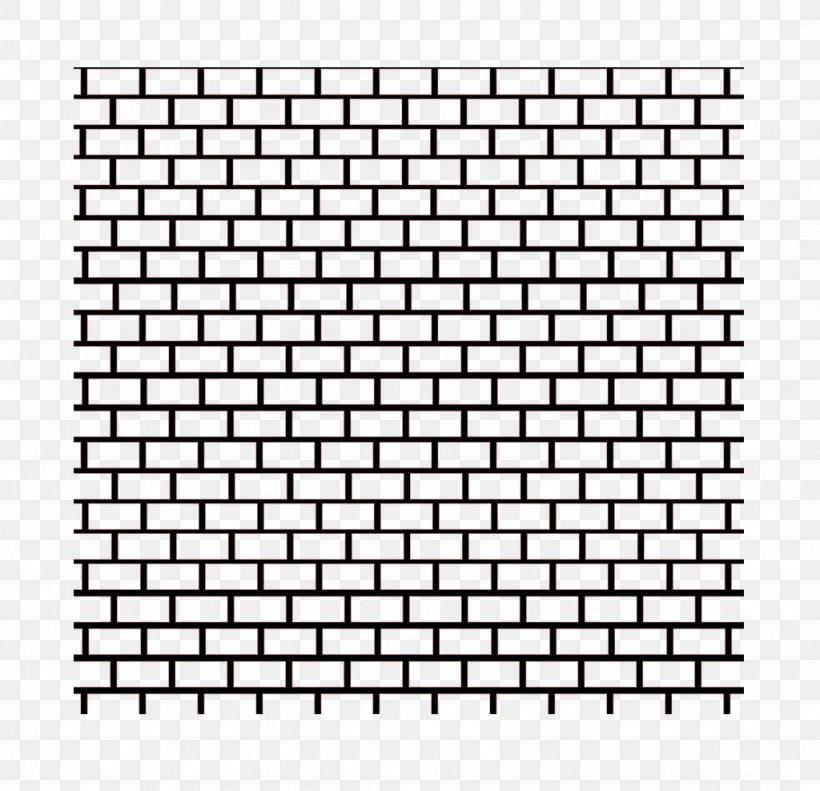 Partition Wall Brick Living Room Ceiling, PNG, 1024x988px, Black, Area, Baseboard, Black And White, Brick Download Free