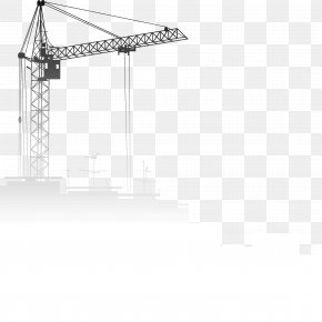 Site Crane - Engineering Clip Art PNG