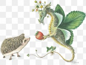 Eastern Prickly Pear - Hedgehog Animal Dragon Christmas Greeting & Note Cards PNG