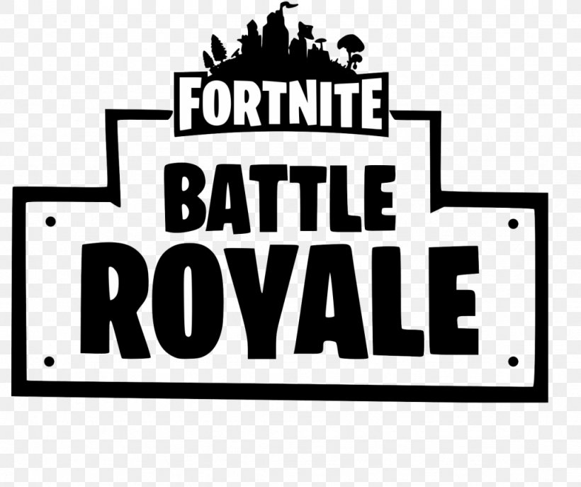 Fortnite Battle Royale Logo Battle Royale Game Font, PNG, 1024x858px, Fortnite Battle Royale, Area, Battle Royale Game, Black, Black And White Download Free