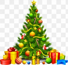 Creative Christmas - National Christmas Tree Christmas Decoration Clip Art PNG