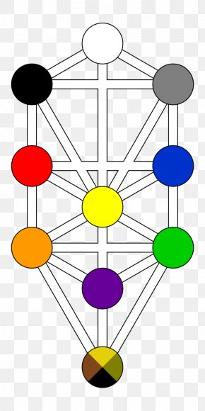 Tree Of Life - Tree Of Life Kabbalah Hermetic Qabalah Sefirot Major Arcana PNG