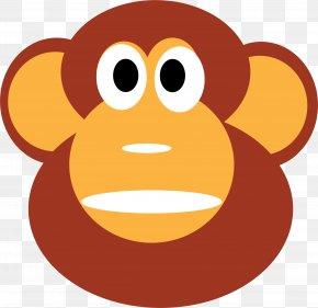Monkey - Chimpanzee Ape Gorilla Monkey Clip Art PNG