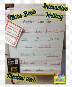 Hardcout Kindergarten Writing Books - Ten Apples Up On Top! Writing Font Product Text Messaging PNG