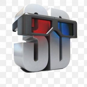 3D Creative - 3D Film Stereoscopy Anaglyph 3D Polarized 3D System PNG