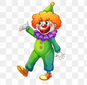 Cartoon Clown - Carnival Clown Circus Clip Art PNG