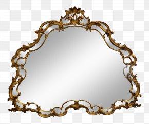Rococo - Rococo Mirror Interior Design Services Wood Carving Decorative Arts PNG