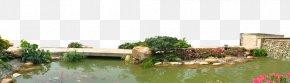 Creative Garden Lake - Landscape Download PNG
