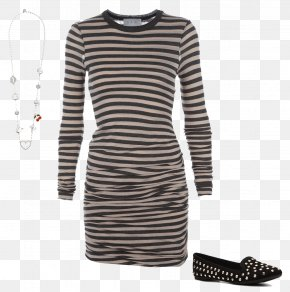 Striped Dress Image - Hoodie T-shirt Clothing Sweater PNG