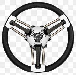 Steering Wheel - Alloy Wheel Motor Vehicle Steering Wheels Ship's Wheel Boat PNG