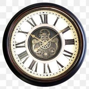 Antique Wall Clock - Clock Window Wall Gear Antique PNG