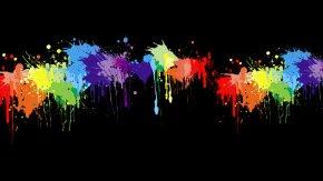 Paint Splash - Painting Desktop Wallpaper Splatter Film PNG