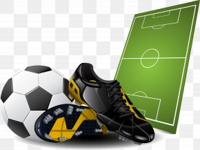 Sports Equipment - Football Boot Cleat Stock Photography PNG