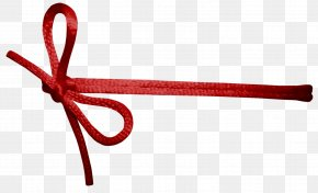 Red Rope Knot - Rope Knot Ribbon PNG