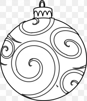 Small Ornament Cliparts - Christmas Ornament Coloring Book Christmas Decoration Page PNG