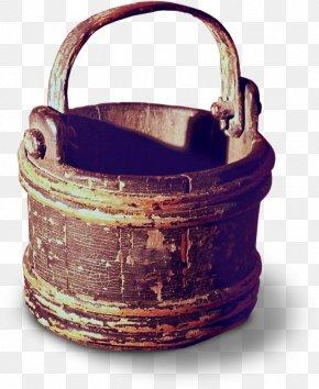 Wooden Bucket - Beer Bucket Barrel PNG