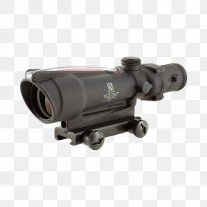 Crosshair - Advanced Combat Optical Gunsight Trijicon Telescopic Sight Reticle Firearm PNG