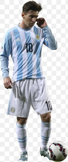 Lionel Messi - Lionel Messi Copa América Centenario Argentina National Football Team 2015 Copa América Jersey PNG