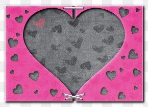 Love Wood Frame - Love Valentines Day Pixabay Illustration PNG