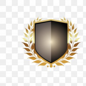 The Design Of Metal Shield - Platinum Granite Business Investment Service PNG