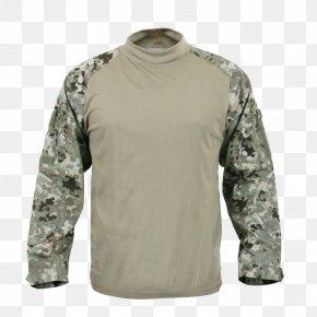 T-shirt - T-shirt Army Combat Shirt Battle Dress Uniform Military Camouflage PNG