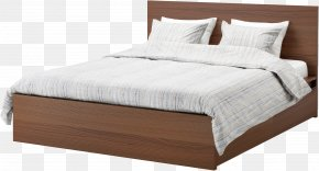 Bed - Bed Size Mattress Bed Frame PNG