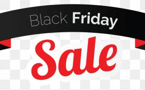 Black Friday - Black Friday Discounts And Allowances Web Banner Clip Art PNG