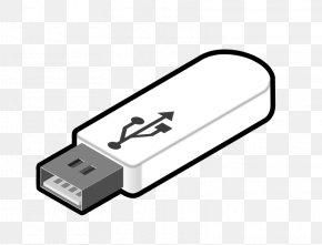 Memory Cliparts - USB Flash Drive Computer Data Storage Flash Memory Hard Disk Drive Clip Art PNG