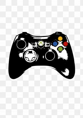 Games Clipart - Xbox 360 Controller Wii PlayStation 3 Xbox One Controller PNG