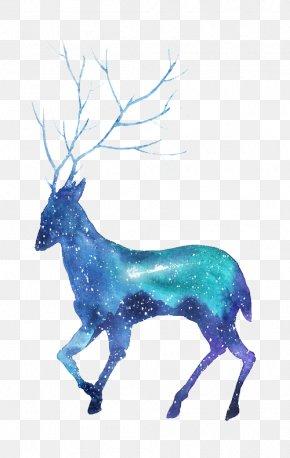 Deer - Deer Silhouette Download PNG