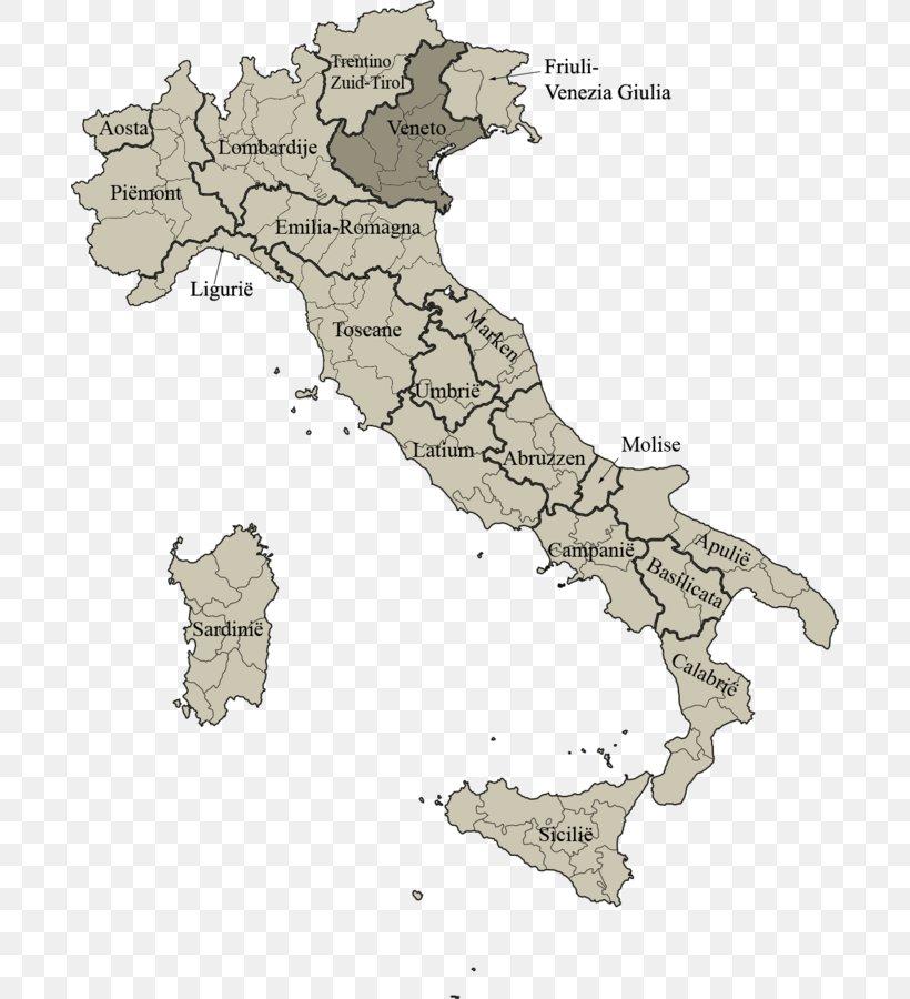 Italy Italian Institutional Referendum, 1946 Map Italian ...