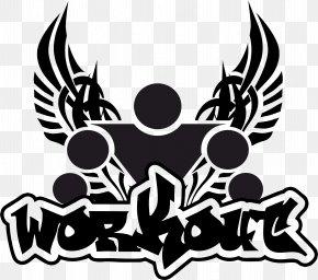 Workout - Street Workout T-shirt Sport Logo Calisthenics PNG