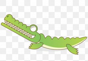 A Crocodile - Crocodile Alligator Cartoon PNG