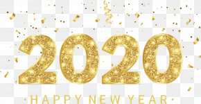 Symbol Number - Happy New Year 2020 Happy New Year PNG