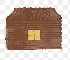 House - The Three Little Pigs House Domestic Pig Wood Stain PNG