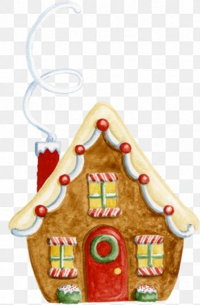 Anciennes Maisons En Pierre - Gingerbread House Clip Art Christmas Day Lebkuchen PNG