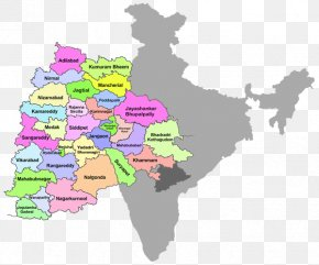 Main And Collateral Channels Map - States And Territories Of India Map Royalty-free PNG