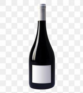 Wine Bottle - Red Wine Champagne Vodka Bottle PNG