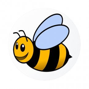 Cute Cartoon Bumble Bee - Bumblebee Cartoon Animation Clip Art PNG