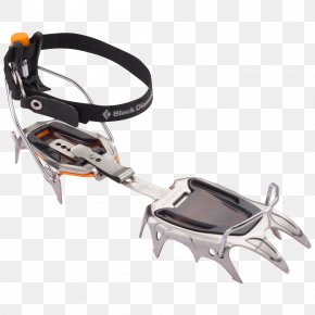 Mountaineering - Black Diamond Equipment Serac Crampons Ice Climbing PNG