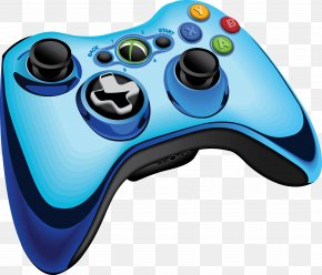 Vector Gamepad - Xbox 360 Controller Game Controller Joystick Video Game PNG