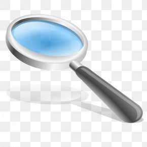 Search Magnifying Glass Icon - Magnifying Glass Magnification Clip Art PNG