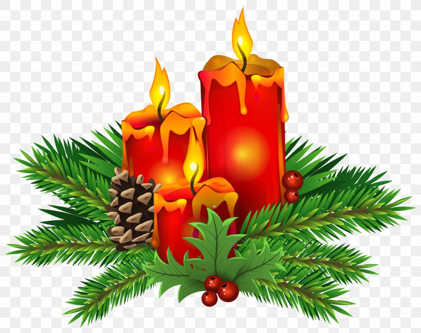 Christmas Day Candle Clip Art, PNG, 7183x5700px, Christmas, Candle, Centrepiece, Christmas Card, Christmas Decoration Download Free