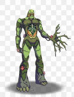 Swamp - Swamp Thing Fan Art Drawing DeviantArt PNG