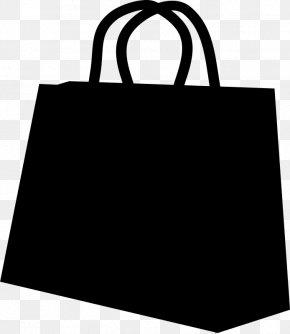 M Product Shopping Bag - Tote Bag Black & White PNG
